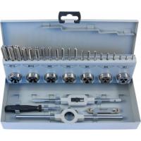 MTDS32 Набор метчиков трехпроходных ручных универсальных и плашек круглых ручных серий COMBO М3-М12, HSS-G, 32 предмета