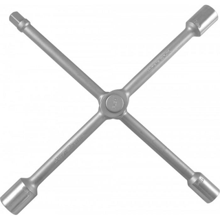 "AG010098 Ключ баллонный крестообразный 14"", 17,19,21мм,1/2""DR"